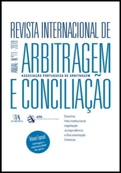 Revista Internacional de Arbitragem e Conciliação - Ano XI - 2018