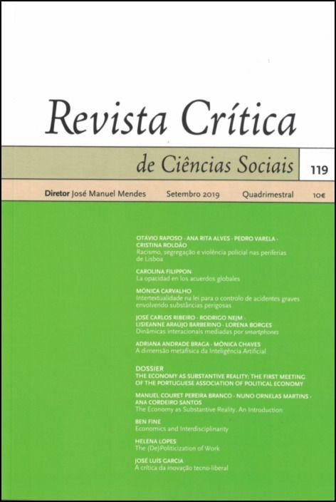 Revista Crítica de Ciências Sociais Nº 119