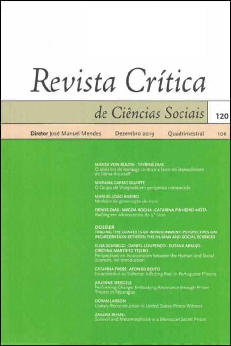 Revista Crítica de Ciências Sociais Nº 120