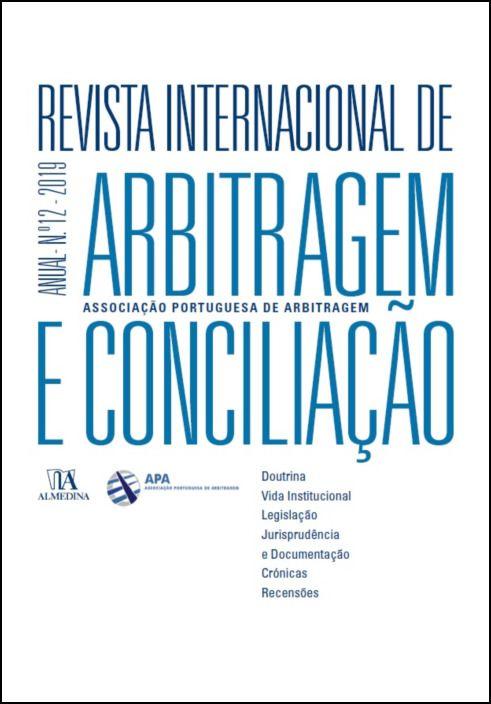 Revista Internacional de Arbitragem e Conciliação - Ano XII - 2019