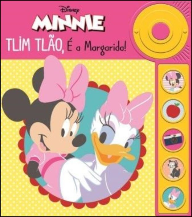 Minnie - Tlim Tlão, é a Margarida