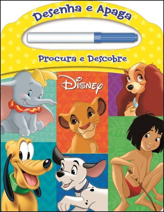 Disney - Desenha e Apaga - Procura e Descobre