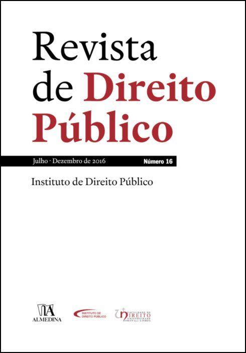 Revista de Direito Público - Ano VIII, N.º 16 - Jul/dez 2016