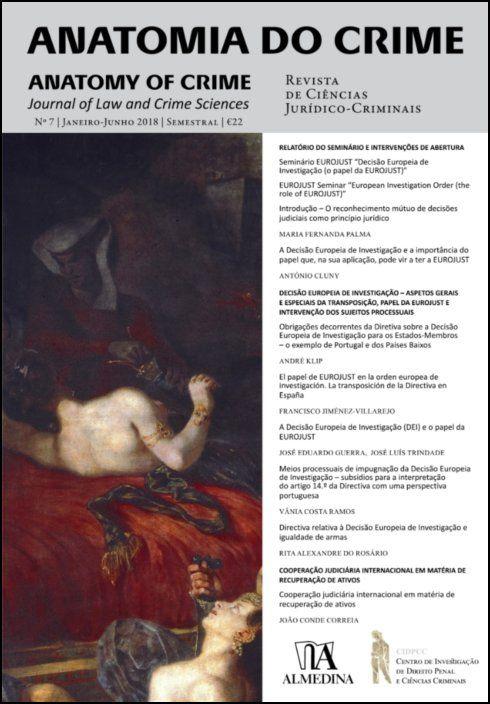 Anatomia do Crime n.º 7 - 2017