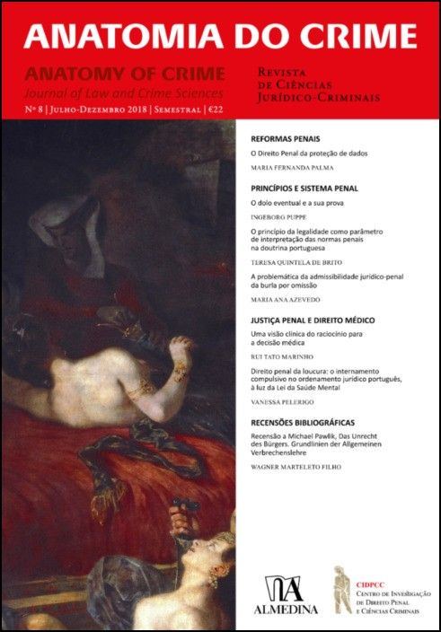 Anatomia do Crime n.º 8 - 2018
