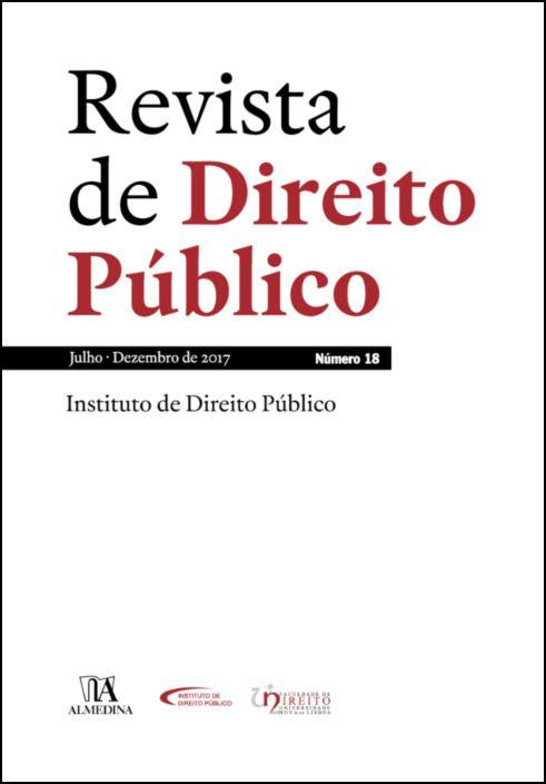 Revista de Direito Público - Ano IX, N.º 18 - Julho/Dezembro de 2018