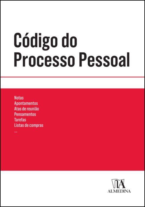 Código do Processo Pessoal (Bolso Vermelho)