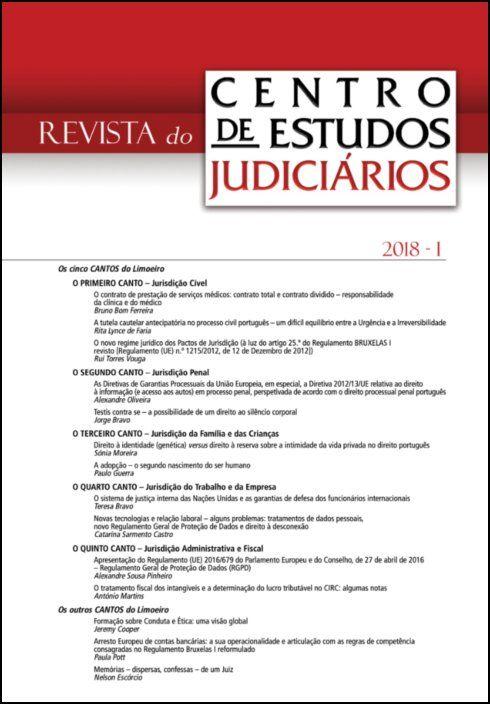 Revista do CEJ n.º 1 - 2018