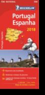 Mapa National Portugal Espanha 2018