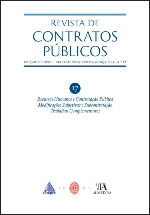 Revista de Contratos Públicos n.º 17