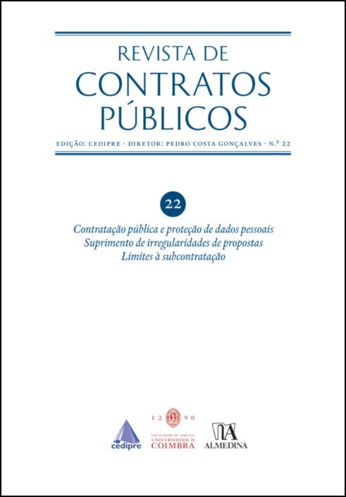 Revista de Contratos Públicos n.º 22