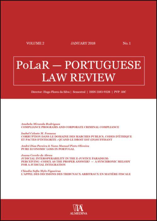 PoLaR Portuguese Law Review - vol. 2 - n.º 1