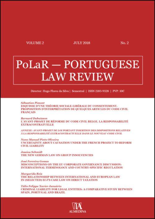 PoLaR Portuguese Law Review - vol. 2 - n.º 2