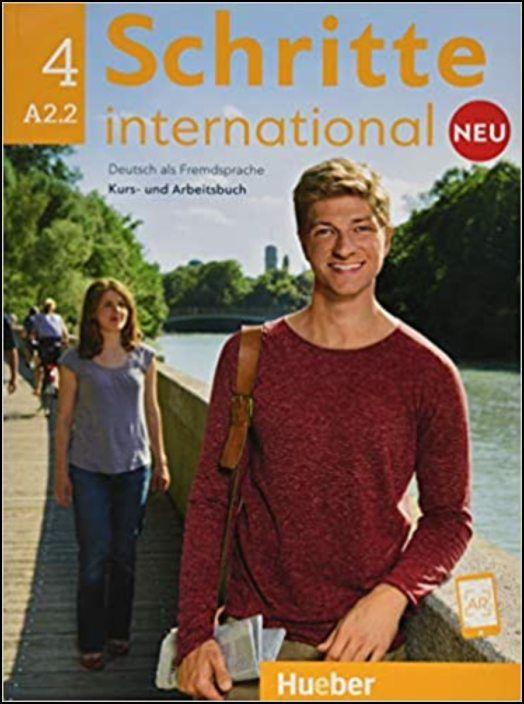 Schritte international Neu 4:Kursbuch+Arbeitsbuch+CD zum Arbeitsbuch