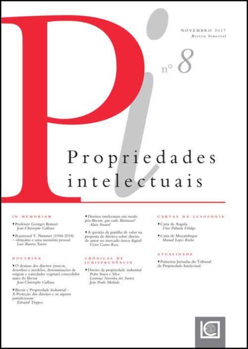 Propriedades Intelectuais - Número 8