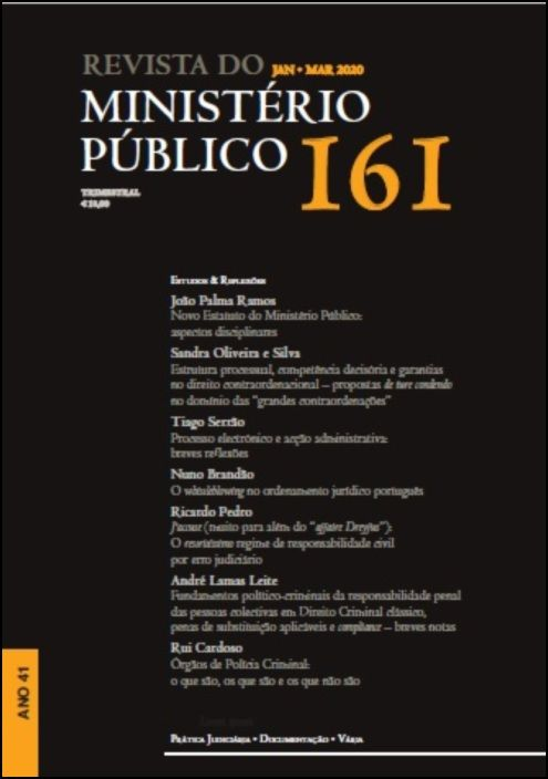 Revista Ministério Público N.º 161