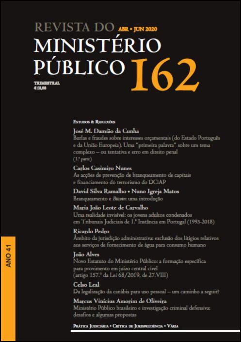 Revista Ministério Público N.º 162