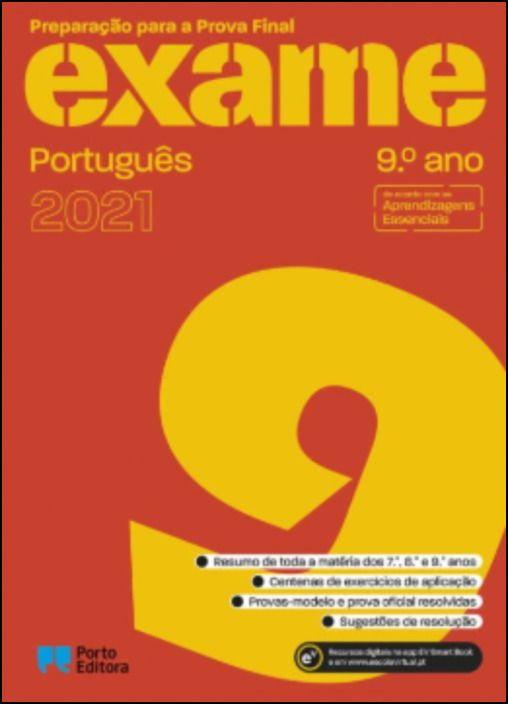 Preparação para a Prova Final 2021  Português  9.º Ano