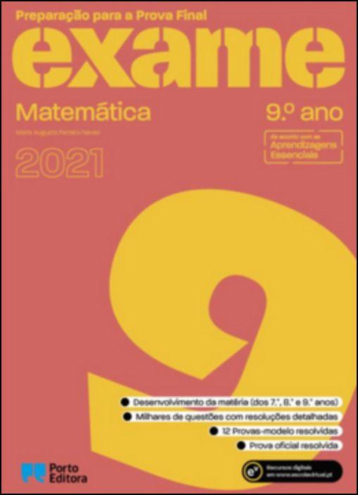 Preparação para a Prova Final 2021  Matemática  9.º Ano