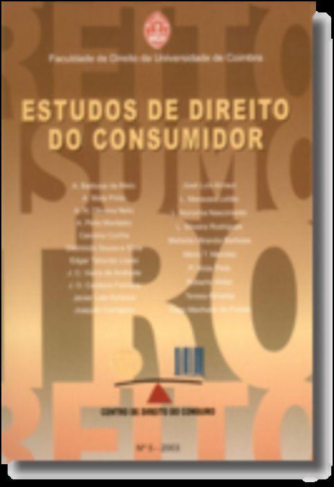 Estudos de Direito do Consumidor - Nº 6 - 2004