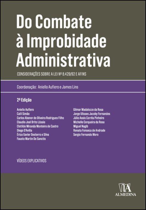Do Combate à Improbidade Administrativa - 2ª Edição