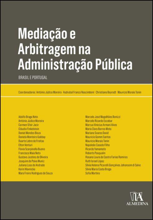 Mediação e Arbitragem na Administração Pública