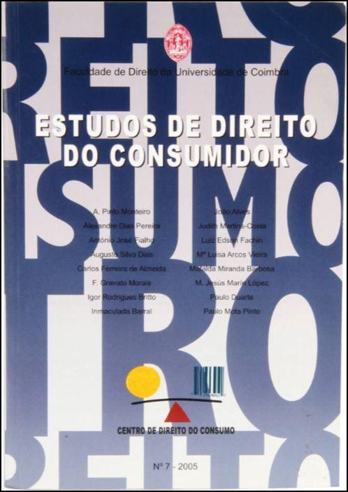 Estudos de Direito do Consumidor - Nº 7 - 2005
