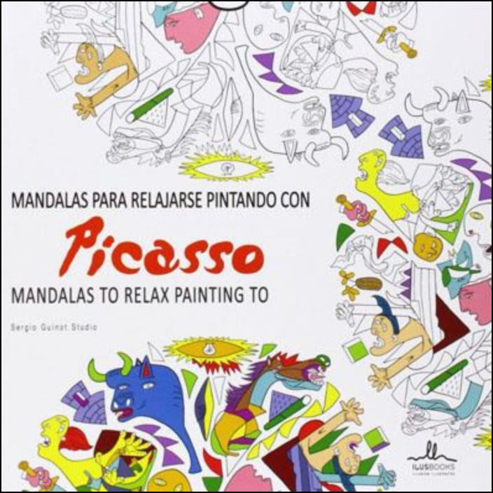 Mandalas Para Relajarse Pintando Con Picasso