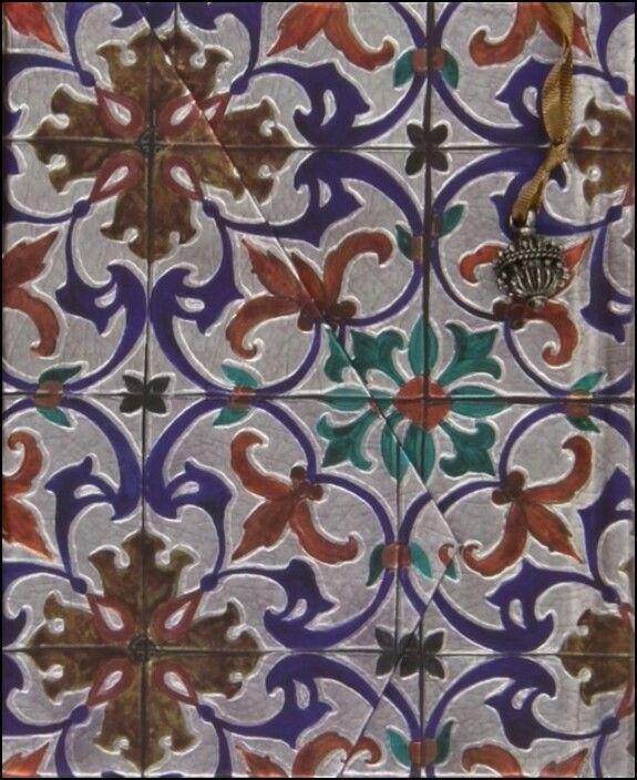 Caderno Alfama Flor Lis