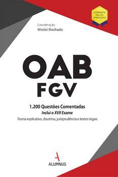 OAB/FGV : questões comentadas