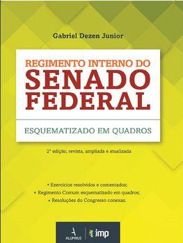Regimento interno do Senado Federal esquematizado em quadros