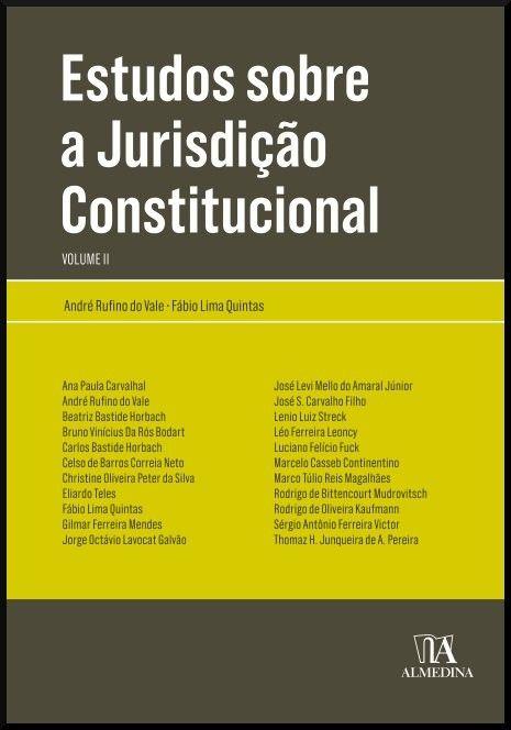 Estudos sobre a Jurisdição Constitucional - Volume II