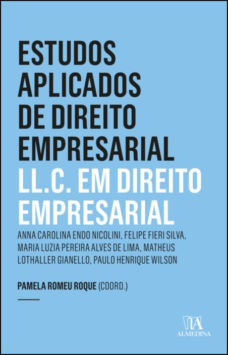 Estudos Aplicados de Direito Empresarial - LL.C. em Direito Empresarial