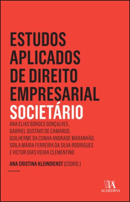 Estudos Aplicados de Direito Empresarial - Societário