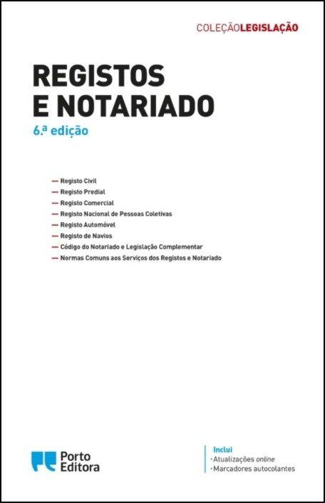 Registos e Notariado - Edição Académica