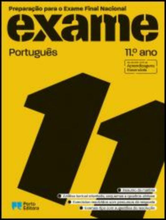 Preparação para o Exame Final Nacional - Português - 11.º Ano