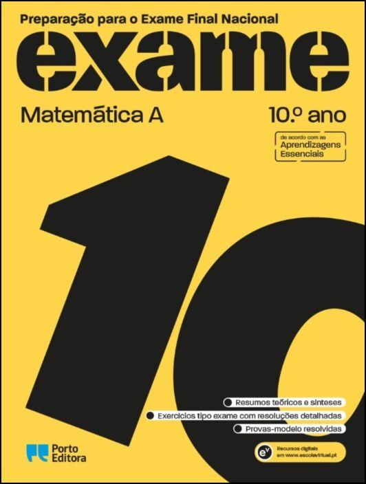 Preparação para o Exame Final Nacional - Matemática A - 10.º Ano