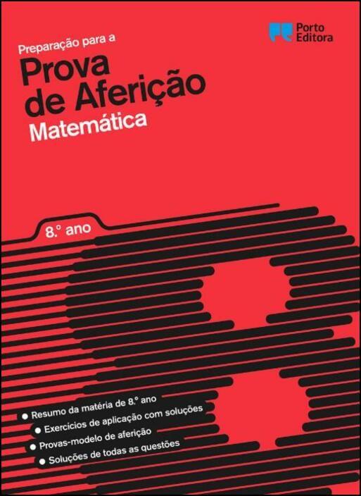 Preparação para a Prova de Aferição - Matemática - 8.º Ano