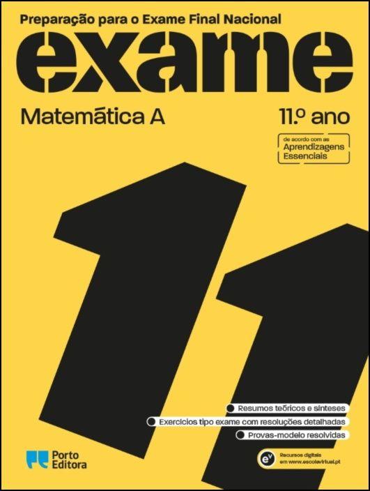 Preparação para o Exame Final Nacional - Matemática A - 11.º Ano