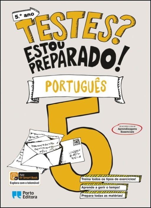 Testes? Estou preparado! - Português - 5.º Ano