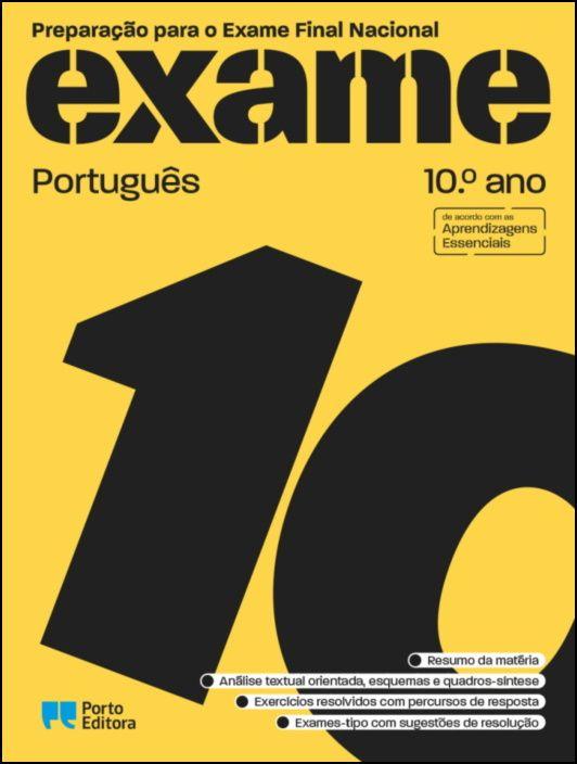 Preparação para o Exame Final Nacional - Português - 10.º Ano