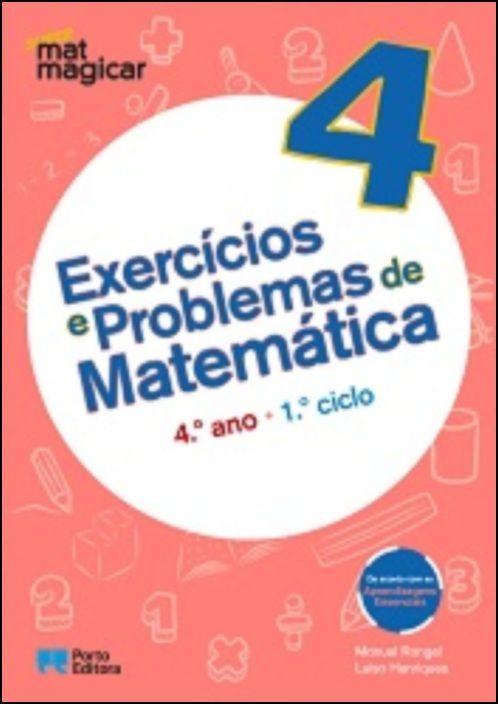 Super Matmagicar 4 - 4.º Ano Exercícios e Problemas de Matemática
