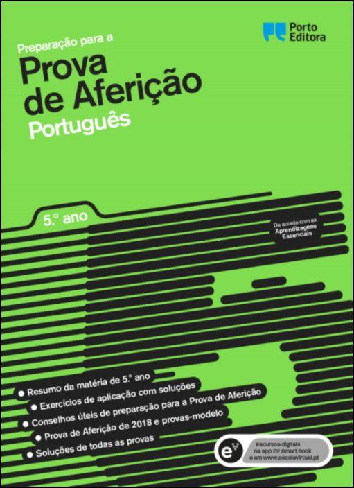 Preparação para a Prova de Aferição - Português - 5.º Ano