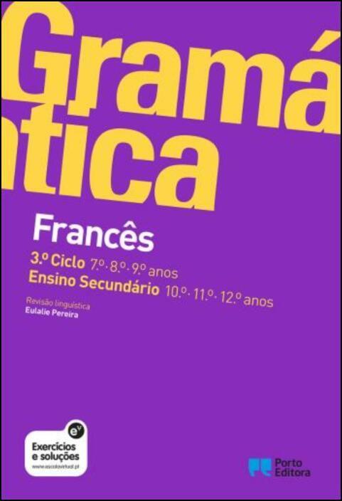 Gramática de Francês - 3.º Ciclo e Ensino Secundário