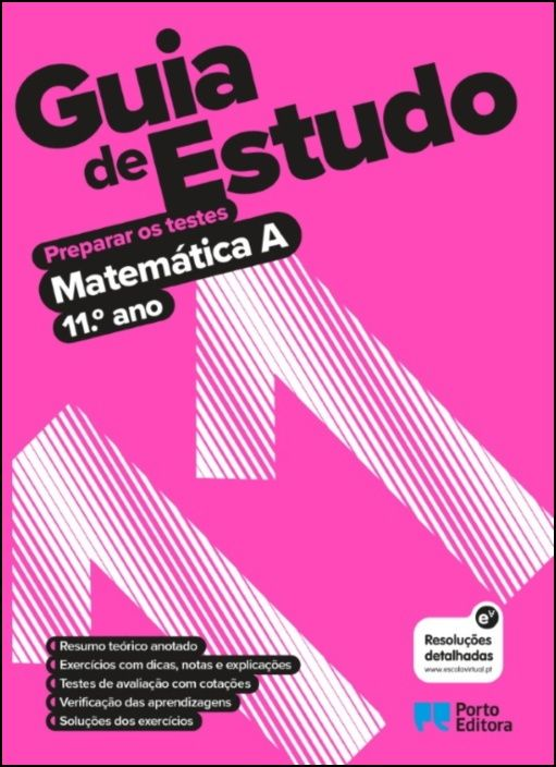 Guia de Estudo - Matemática A - 11.º Ano