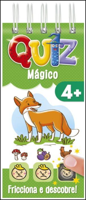 Quiz Mágico 4+ (Capa Verde)