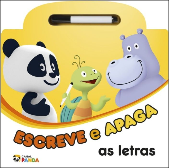 Canal Panda - Escreve e Apaga as Letras