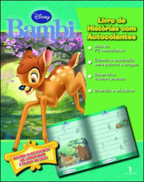 Histórias Com Autocolantes - Bambi