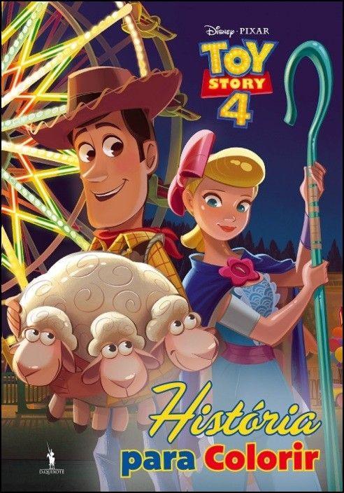 Toy Story 4 - História Para Colorir