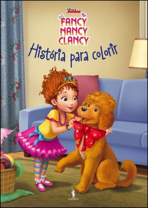 Fancy Nancy Clancy - História Para Colorir